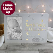 Twinkle Twinkle 6x4 Inch Personalised Light Up Frame