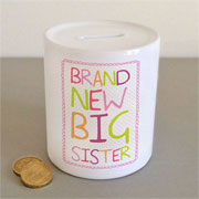 Brand New Big Sister Money Box