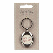 Special Teacher Keyring and Trolley Token by East of India