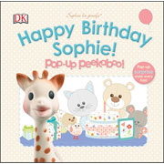 Sophie the Giraffe Happy Birthday Pop Up Peekaboo Book