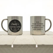 Daddys Personalised Campfire Coffee Outdoor Mug