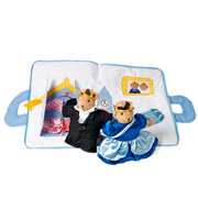 Royal Bears King & Queen Play Bag by Oskar & Ellen