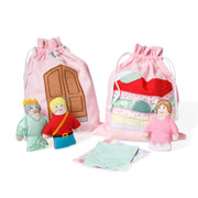 Oskar and Ellen Princess and the Pea Story Bag Play Set