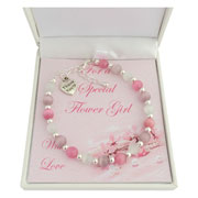 Flower Girl or Bridesmaid Thank You Bracelet