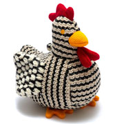 Chirpy The Chunky Knit Chicken Toy