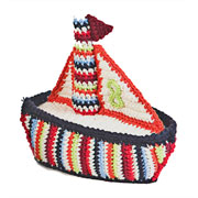 Crochet Sailboat Rattle by Anne-Claire Petit