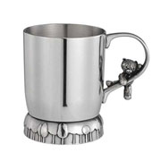 Teddy Bear's Picnic Pewter Forest Mug by Royal Selangor