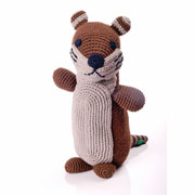 Pebble Fair Trade Crochet Otter Knitted Soft Toy