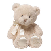 My First Teddy Bear Cream by Baby Gund