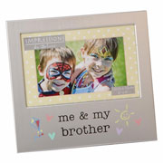 Me & My Brother Frame by Juliana