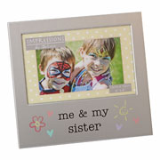 Me & My Sister Frame by Juliana