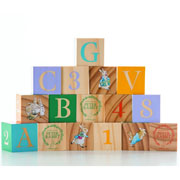 Peter Rabbit ABC - 123 Wooden Picture Blocks
