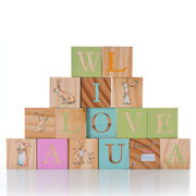 Guess How Much I Love You ABC Wooden Picture Blocks