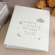 Twinkle Twinkle Personalised Sleeve Baby Photo Album