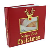 Red Reindeer Icon Photo Album