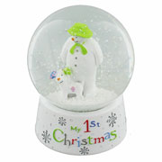 Babys First Christmas Snow Globe
