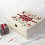 Personalised Traditional Christmas Eve Box Large