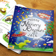 Modern Nursery Rhymes Personalised Children's Book