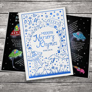 Personalised Modern Nursery Rhymes Embossed Cloth Hardcover