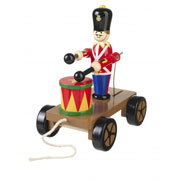 Traditional Drumming Soldier Pull-Along by Orange Tree Toys