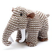 Knitted Woolly Mammoth Rattle
