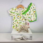 Jurassic Junior Personalised Baby Gift Set