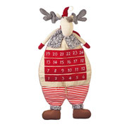 Extra Large Fabric Reindeer Advent Calendar