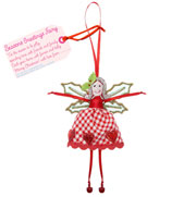Fair Trade Seasons Greetings Christmas Fairy