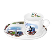 Thomas and Friends China Mug and Snack Plate