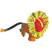 Fair Trade Lion by Barefoot Toys