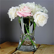 Personalised Id Pick You Glass Vase Any Name