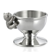 Pewter Teddy Bears Picnic Egg Cup by Royal Selangor