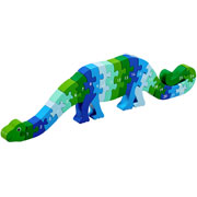 Fair Trade Dinosaur 1 – 25 Wooden Jigsaw by Lanka Kade