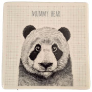 Mummy Bear Coaster by East of India
