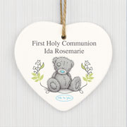 Personalised Tatty Teddy Natures Blessing Ceramic Heart