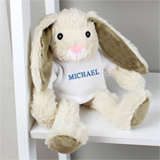 My first easter gifts and toys for a baby childrens easter presents personalised blue name bunny boys easter gift negle