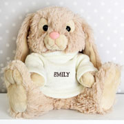ersonalised Name Bunny Easter Gift