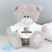 Personalised Tatty Teddy Me to You Bear with No.1 T-Shirt