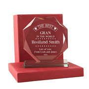 Personalised The Best Gran in the World Presentation Gift