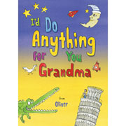 Personalised Id Do Anything for You Grandma Book