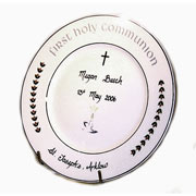 Hand-Personalised 1st Holy Communion Plate