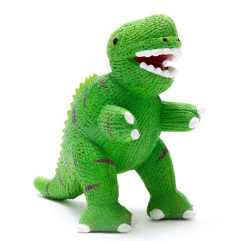 My First T-Rex Dinosaur Natural Rubber Teether Toy