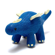 My First Stegosaurus Dinosaur Natural Rubber Baby Teether