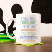 Personalised Best Godfather Just Ask Mug