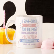 Personalised Best Godmother Just Ask Mug