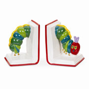 The Very Hungry Caterpillar Bookends by Portmeirion