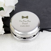 Personalised Engraved Bow Tie Page Boy YoYo