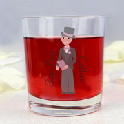 Personalised Fantastic Page Boy Juice Glass