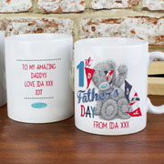 Personalised Me To You 1st Fathers Day Mug