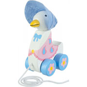 Jemima Puddle Duck Pull Along Toy by Orange Tree Toys